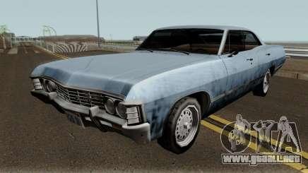 Chevrolet Impala 67 Sobrenatural V2 para GTA San Andreas