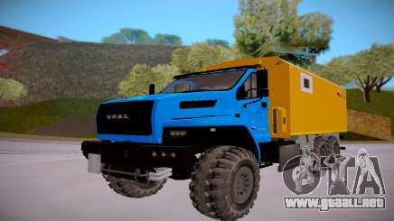 El próximo Ural 4320 Transporte de explosivos para GTA San Andreas