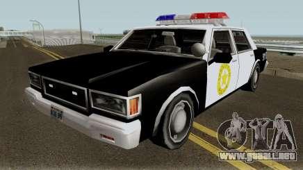 Springfield PD Cruiser para GTA San Andreas