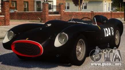 1957 Ferrari Testa Rossa PJ3 para GTA 4