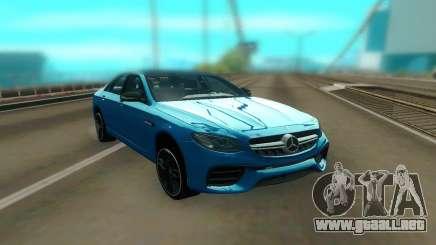 Mercedes-Benz E63S AMG 2018 para GTA San Andreas