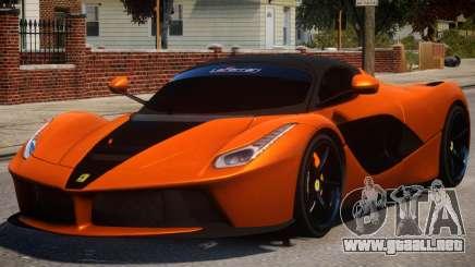 Ferrari LaFerrari PJ2 para GTA 4