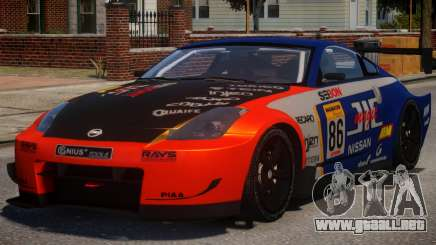 Nissan 350Z Supreme PJ3 para GTA 4