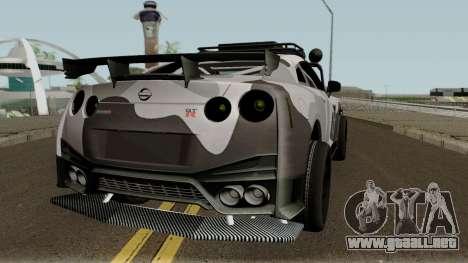 Nissan GT-R Tuning & OffRoad para la visión correcta GTA San Andreas