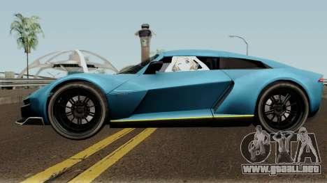 Rezvani Beast Alpha para GTA San Andreas left