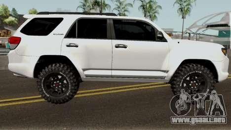 Toyota 4Runner TRD para GTA San Andreas