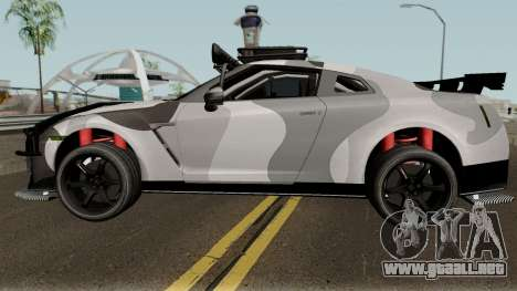 Nissan GT-R Tuning & OffRoad para GTA San Andreas left