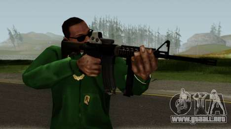 M4 with Eotech para GTA San Andreas