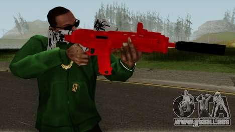 M4 De Trolencio911 Roja para GTA San Andreas tercera pantalla