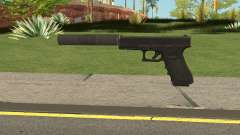 Glock 17 Silenced Escape From Tarkov para GTA San Andreas