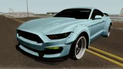Ford Mustang Shelby GT350R Liberty Walk 2016 para GTA San Andreas