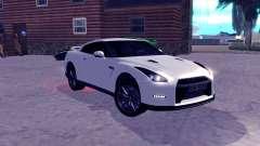 Nissan GT-R R35 Original para GTA San Andreas