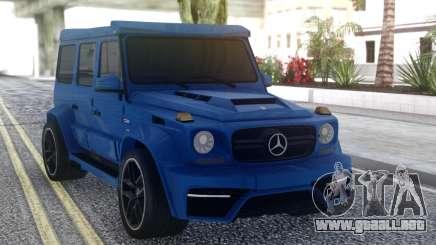 Mersedes-Benz G63 ONYX para GTA San Andreas