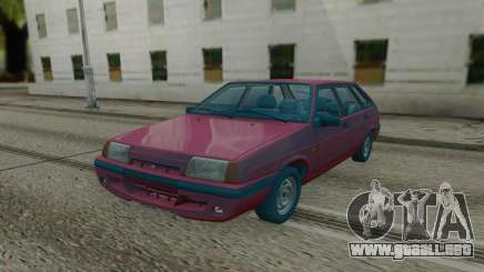 2109 Rojo Hatchback para GTA San Andreas