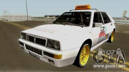Lancia Delta Integrale HF - School Driving 1989 para GTA San Andreas