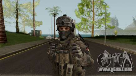 German Special Forces Skin para GTA San Andreas