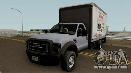 Ford F-550 Box Truck 2008 para GTA San Andreas