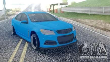 Chevrolet Cruze Sedan para GTA San Andreas