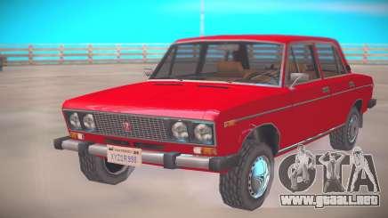VAZ-2106 Low Poly para GTA San Andreas