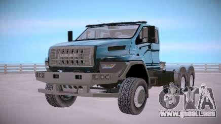Ural Siguiente Neo 6x4 camión Tractor para GTA San Andreas