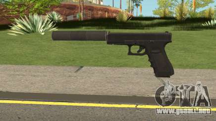 Glock 17 Silenced Escape From Tarkov para GTA San Andreas