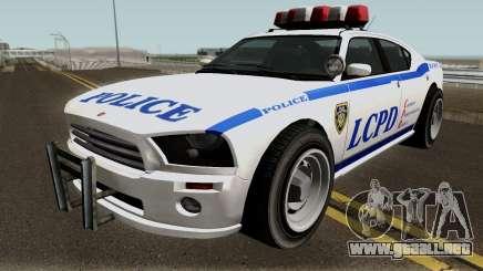 Police Buffalo GTA TBoGT para GTA San Andreas