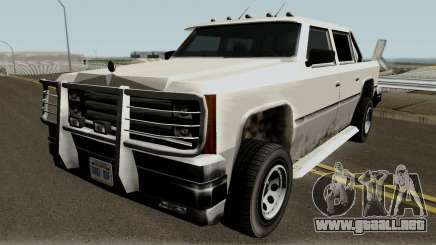 Declasse Rancher FXT (fixed reflections) para GTA San Andreas