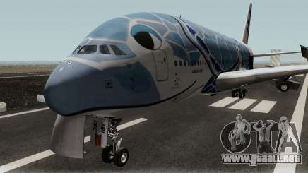 All Nippon Airways (Flying Honu) Airbus A380 para GTA San Andreas