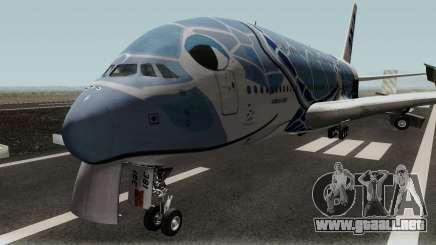 All Nippon Airways (Flying Honu) Airbus A380 para GTA San Andreas