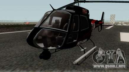 Buckingham News Maverick GTA V para GTA San Andreas