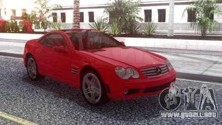 Mercedes-Benz SL65 AMG Red para GTA San Andreas