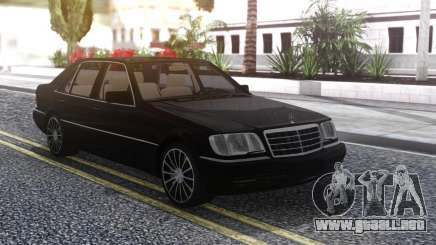 Mercedes-Benz W140 Black para GTA San Andreas