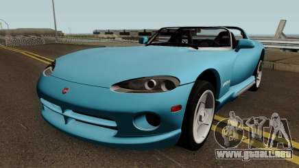 Dodge Viper GTS ACR 1999 para GTA San Andreas
