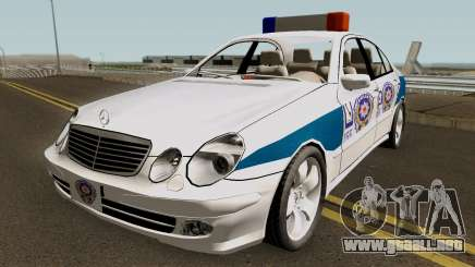 Mercedes Benz E500 Turkish Police Car San Fierro para GTA San Andreas