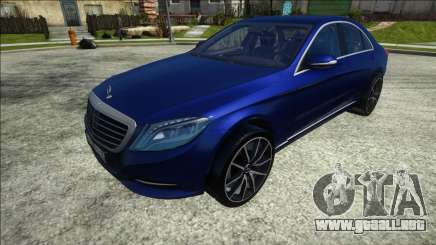 Mercedes-Benz S500 W222 Sedan para GTA San Andreas