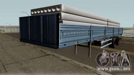 Semirremolque MAZ 933001 para GTA San Andreas