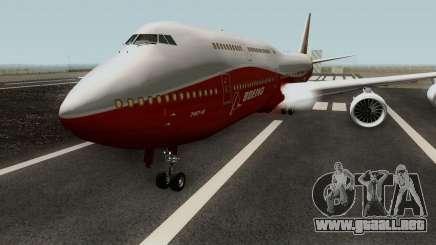 Boeing 747-8 Intercontinental para GTA San Andreas