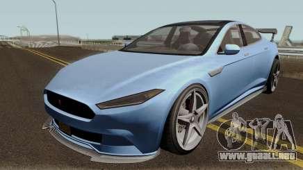 Coil Raiden GTA V para GTA San Andreas