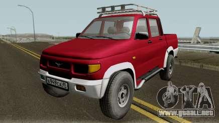 UAZ 2362 Recogida de revisión v2.0 para GTA San Andreas