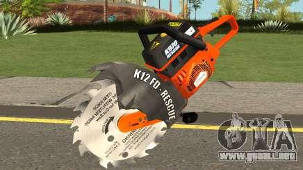 Disco Motosierra para GTA San Andreas