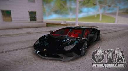 Lamborghini Aventador LP700-4 Roadster para GTA San Andreas