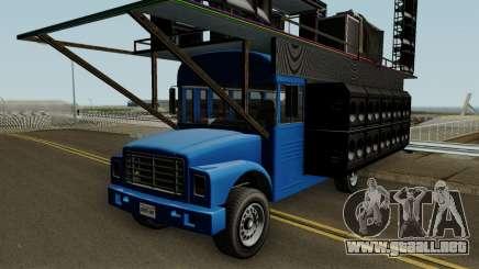 Vapid Festival Bus GTA V IVF para GTA San Andreas