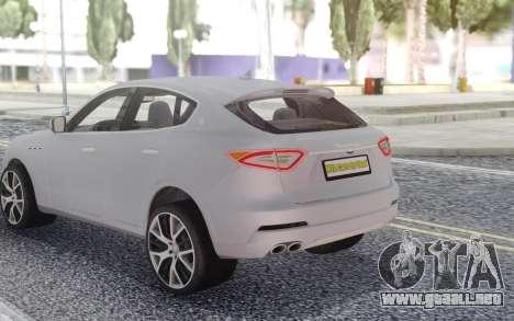 Maserati Levante para GTA San Andreas
