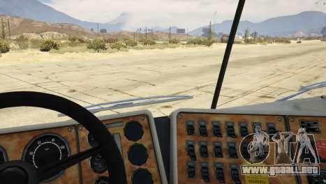 GTA 5 Navistar International 9800 1.0 vista trasera