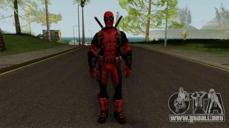 Marvel Future Fight - Deadpool para GTA San Andreas