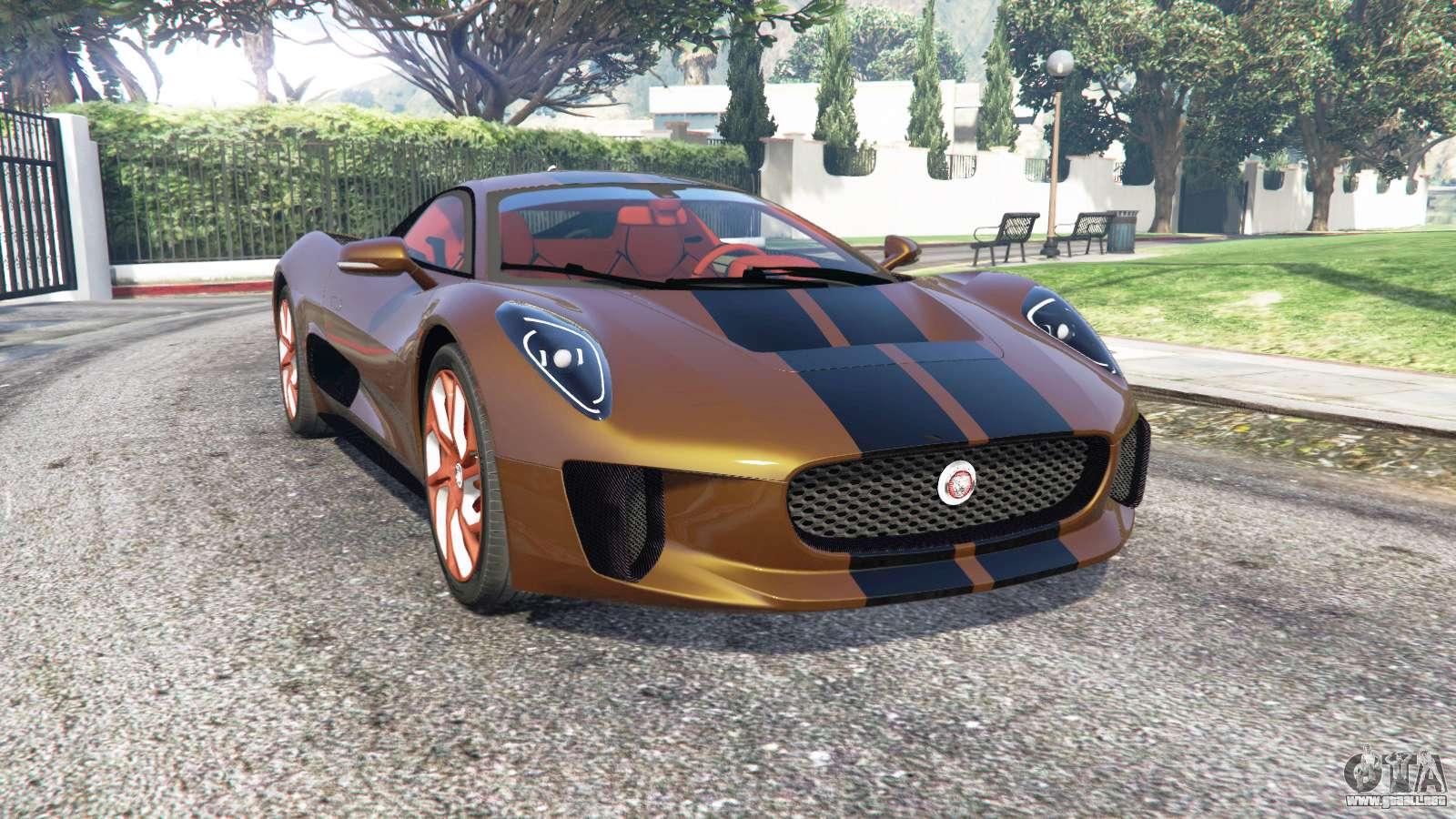 Jaguar C X75 2015 Add On Para Gta 5