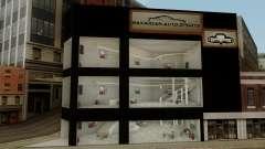 New Luxury Car Showroom para GTA San Andreas