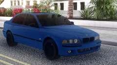BMW M5 E39 Blue Sedan para GTA San Andreas