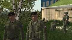 Pak combatientes de la Marina de la Federación para GTA San Andreas