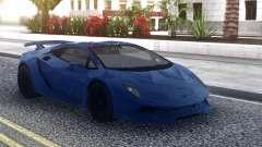 Lamborghini Sesto Elemento Blue para GTA San Andreas